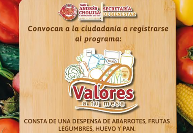 Abren segunda convocatoria de Valores a Tu Mesa en San Andrés