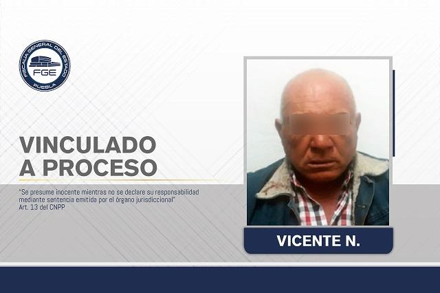 Vicente abusó de una niña de 13 años en una tienda de Tlahuapan