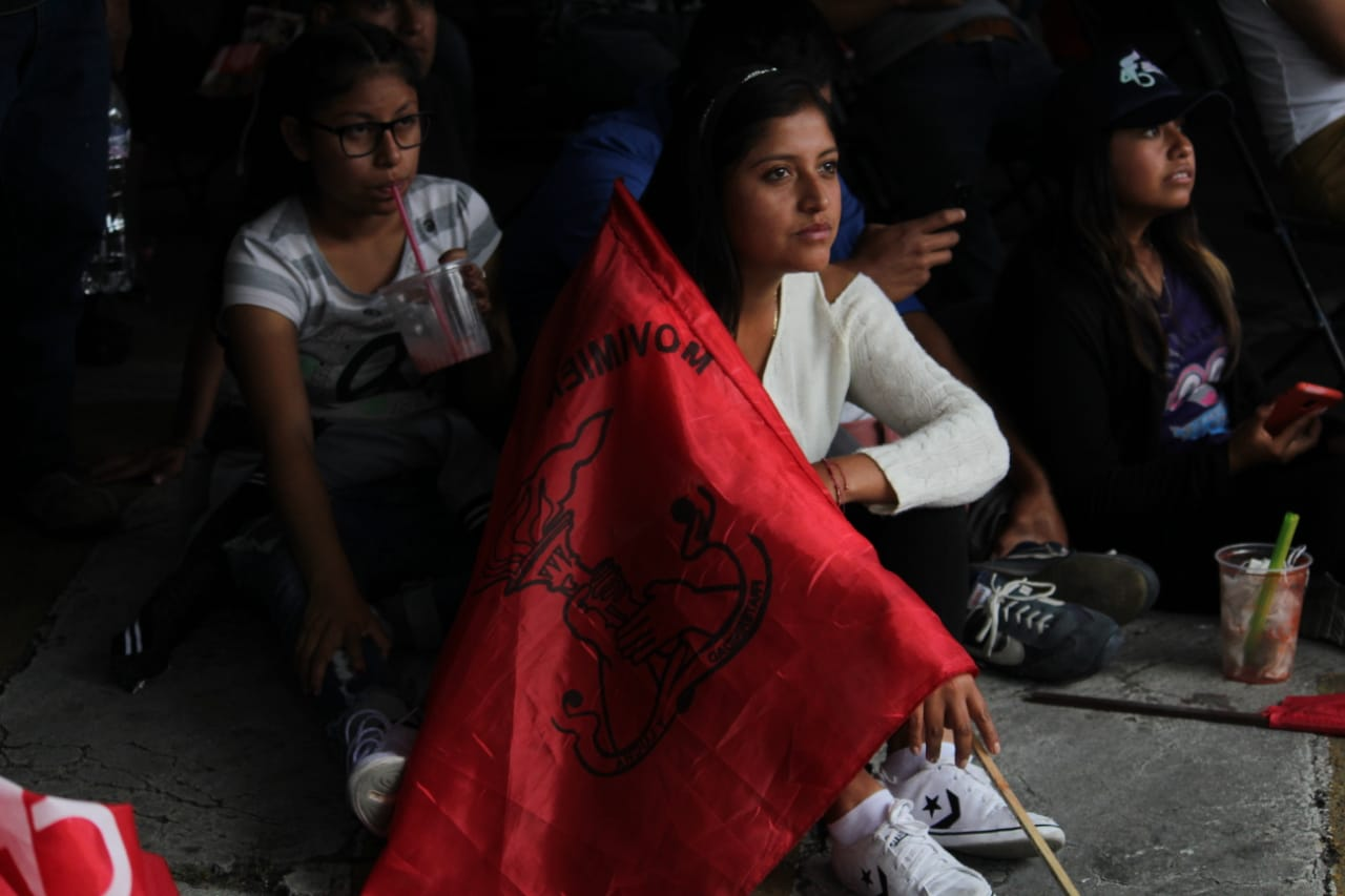 Vecinos de Balcones se suman a manifestación contra recorte del PEF