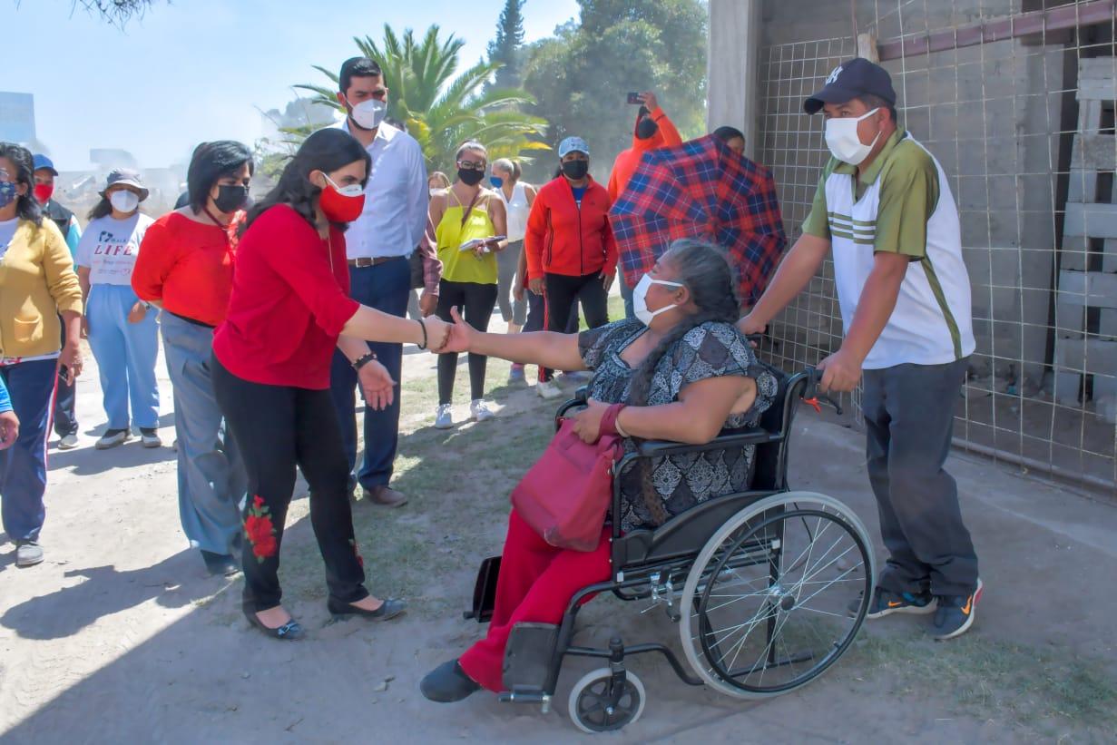 Luminarias, principal demanda de colonos de Carrillo Puerto, en Texmelucan