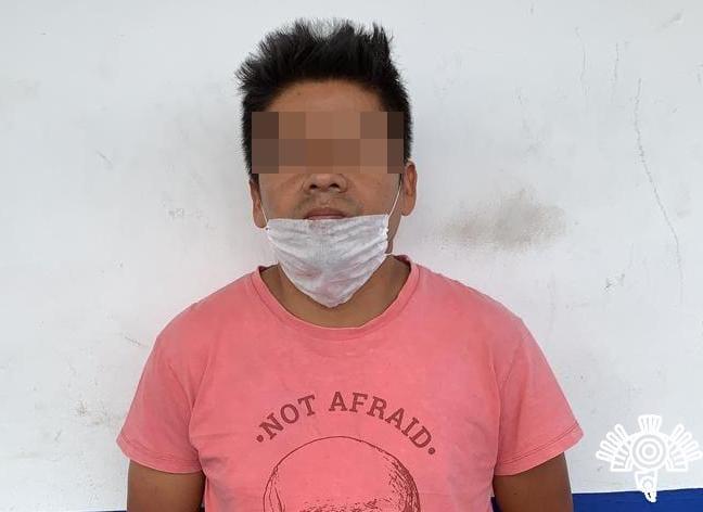 Lo capturan en Cuautlancingo con 8 mil pastillas psicotrópicas