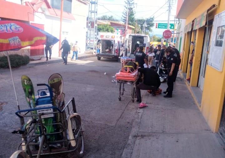 Muere vendedor de Bonice en Tehuacán luego de ser atropellado