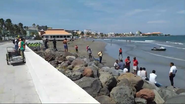Muere turista en playas de Veracruz originario de Amozoc