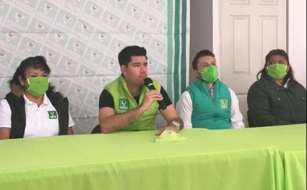Verde Ecologista sin alianzas para candidaturas municipales en Puebla