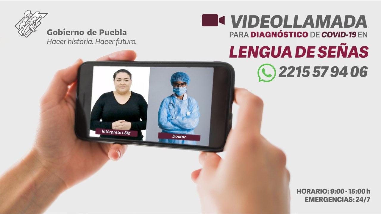 Colaboran Gobierno de Puebla y Facebook en prevención del Covid