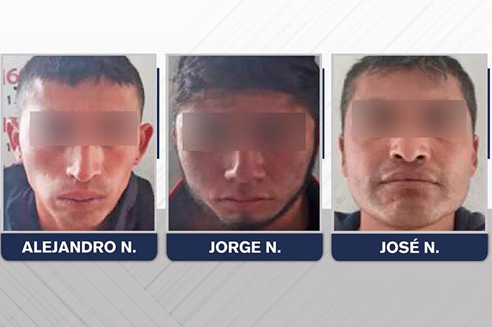 Cae banda dedicada al robo de transporte de carga en Lafragua