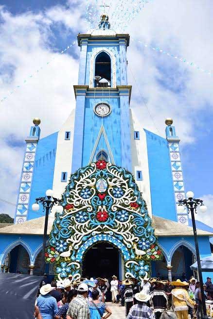 Celebran a la Virgen de la Natividad en el municipio de Nauzontla