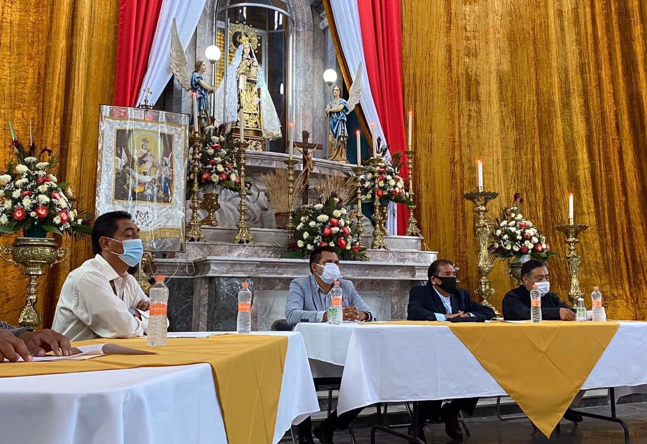 Con aforo reducido en Huejotzingo, celebrará a la Virgen del Carmen