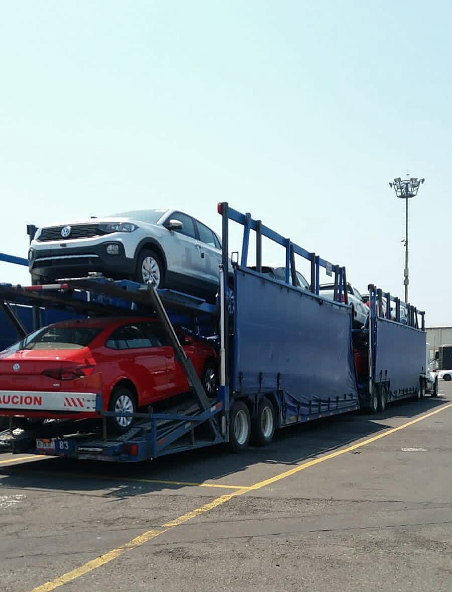 Volkswagen reduce el tiempo de traslado de vehículos importados