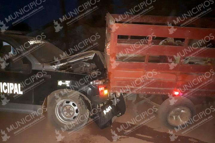 Presunta funcionaria estatal robó gasolinería de Chignahuapan