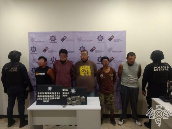 Atrapan a secuestradores de la Banda de El Wero de la Santa Muerte en Tehuacán