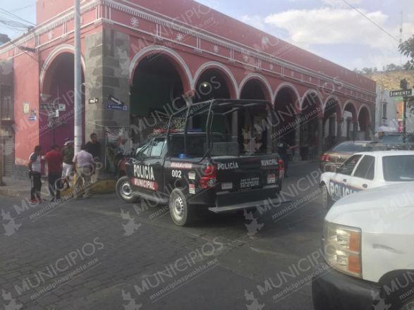 SSP ofrece apoyo al gobierno municipal de Tecamachalco