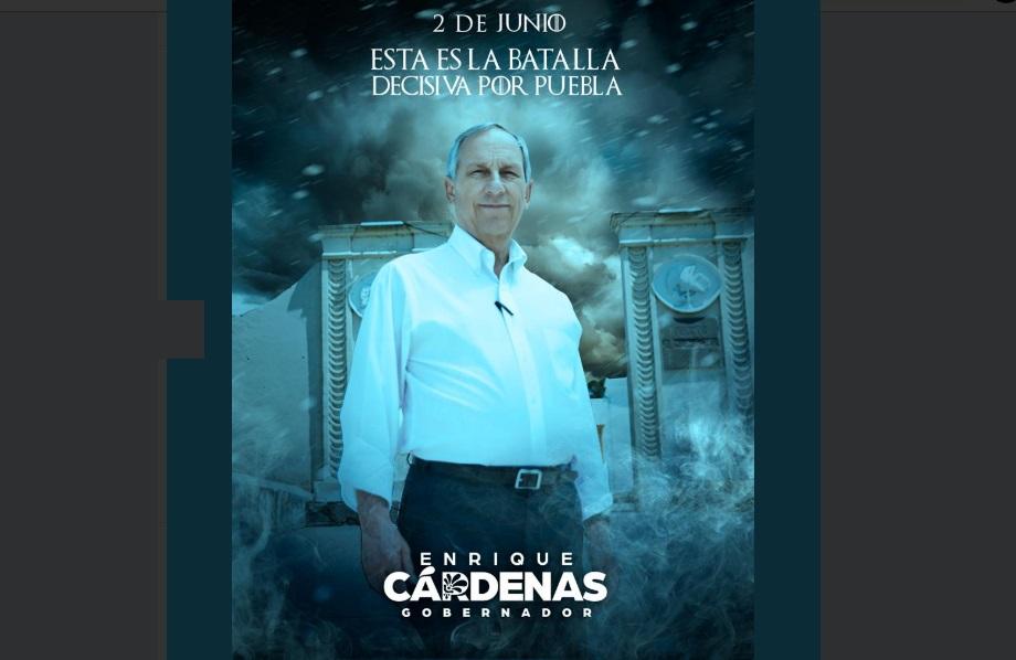 Cárdenas se cuelga de Game of Thrones para su propaganda