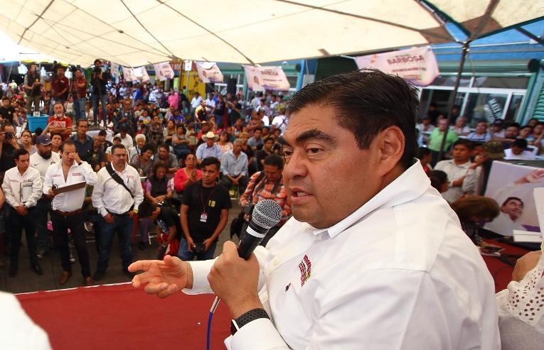 Culpa Barbosa a Moreno Valle y Gali de la violencia en el estado