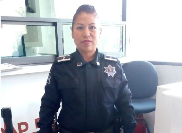 Ana María, madre y policía sin miedo