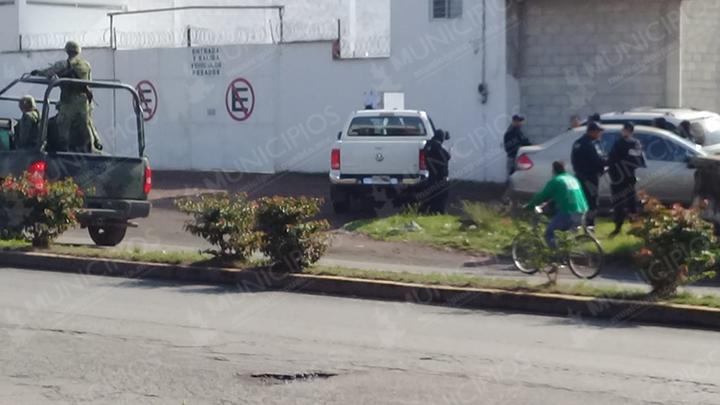 Se registra balacera entre federales y huachigaseros en Texmelucan