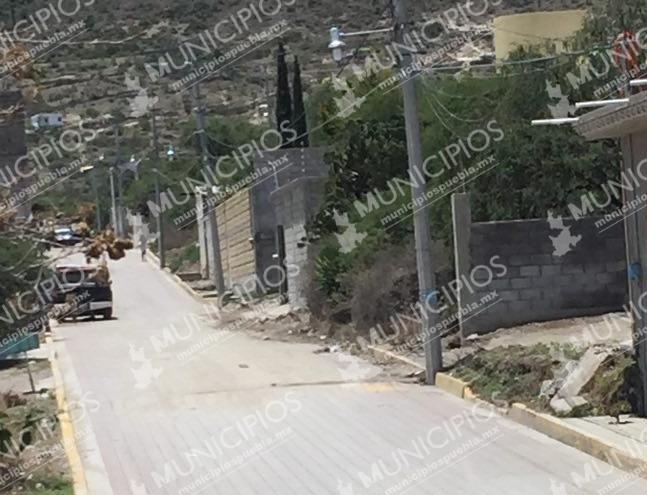 Balacera entre ladrones y policías en Tecamachalco