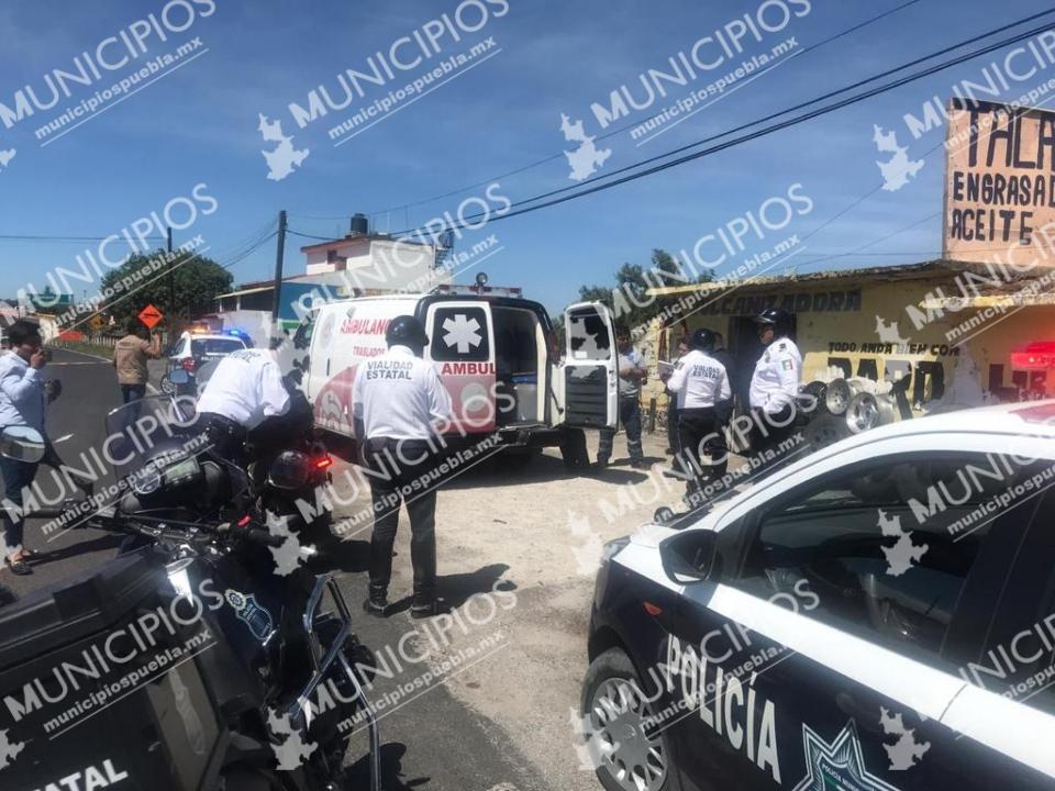 Rumbo a Tlaxcala, comando rescata a presunto homicida y balea policía