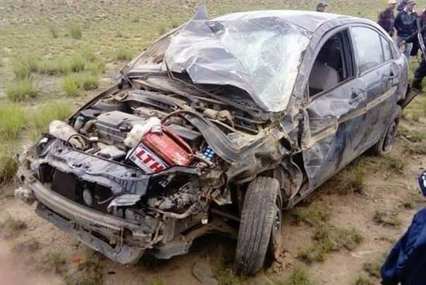 Accidente deja una mujer y bebé lesionadas en Cuyoaco