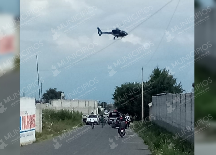 Por pipa abandonada, realizan fuerte operativo en Tlalancaleca