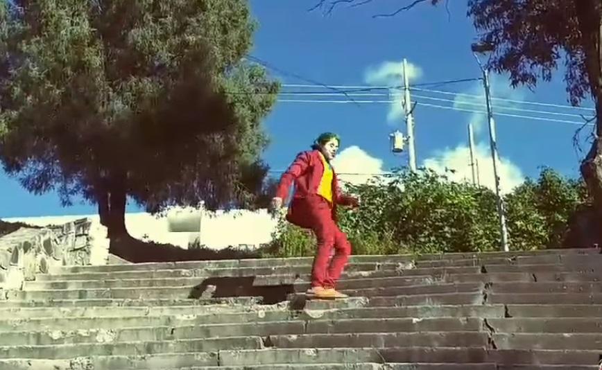 VIDEO Ya surgió el Joker poblano y es una sensación en La Margarita