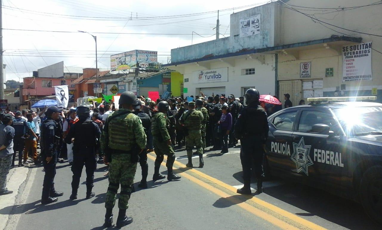 Exigen seguridad y justicia en Chignautla tras semana de homicidios