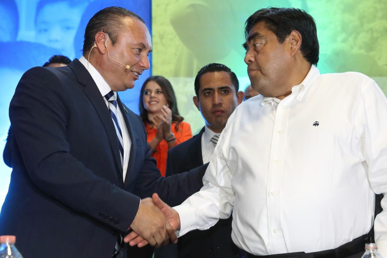 Barbosa se reconcilia con AN en el principal bastión del albiazul: Atlixco