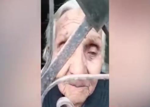VIDEO Hombre encierra a su madre de 91 años para dejarla morir