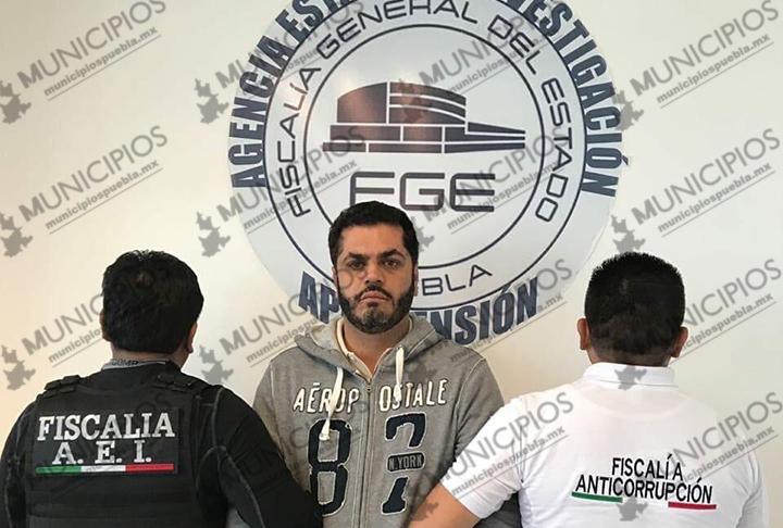 El día de su boda, alcalde de Tehuacán Felipe Patjane es detenido