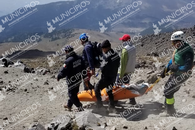 Por avalancha, Ángel murió y Flor resultó herida en el Citlaltépetl