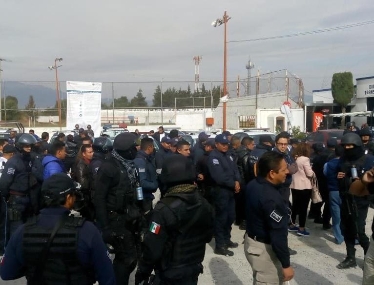 Policías renuncian para evadir operativos del Estado en Texmelucan