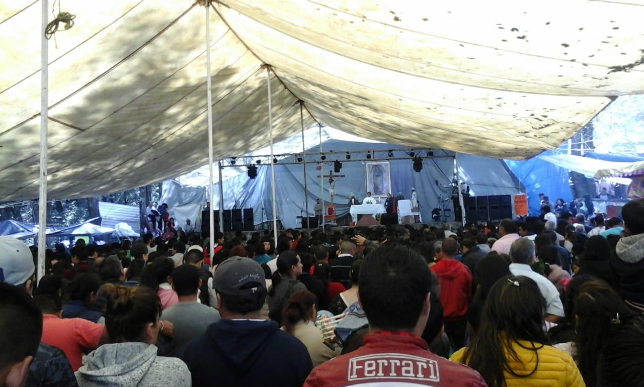 Celebran milagros y favores de la Virgen de Guadalupe en Teziutlán