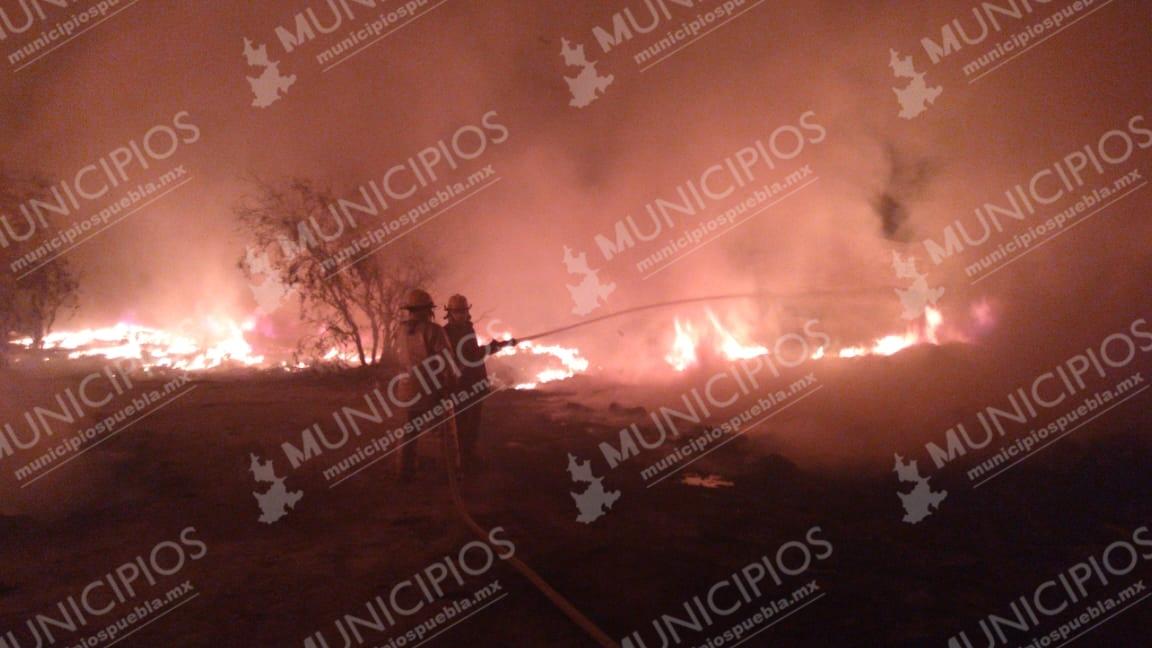 Se incendia granja avícola El Calvario de Tehuacán