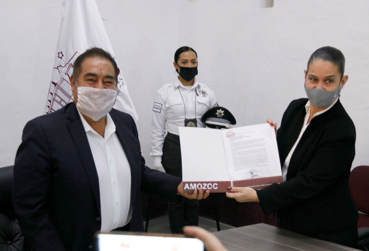 Dona Ayuntamiento de Amozoc terreno para hospital del IMSS