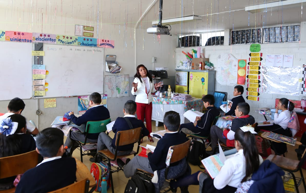 Nuevo ciclo escolar inicia el 20 de julio en Puebla