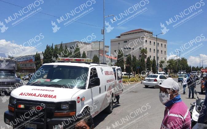 VIDEO Balacera en tianguis de Texmelucan deja 2 muertos y 3 heridos