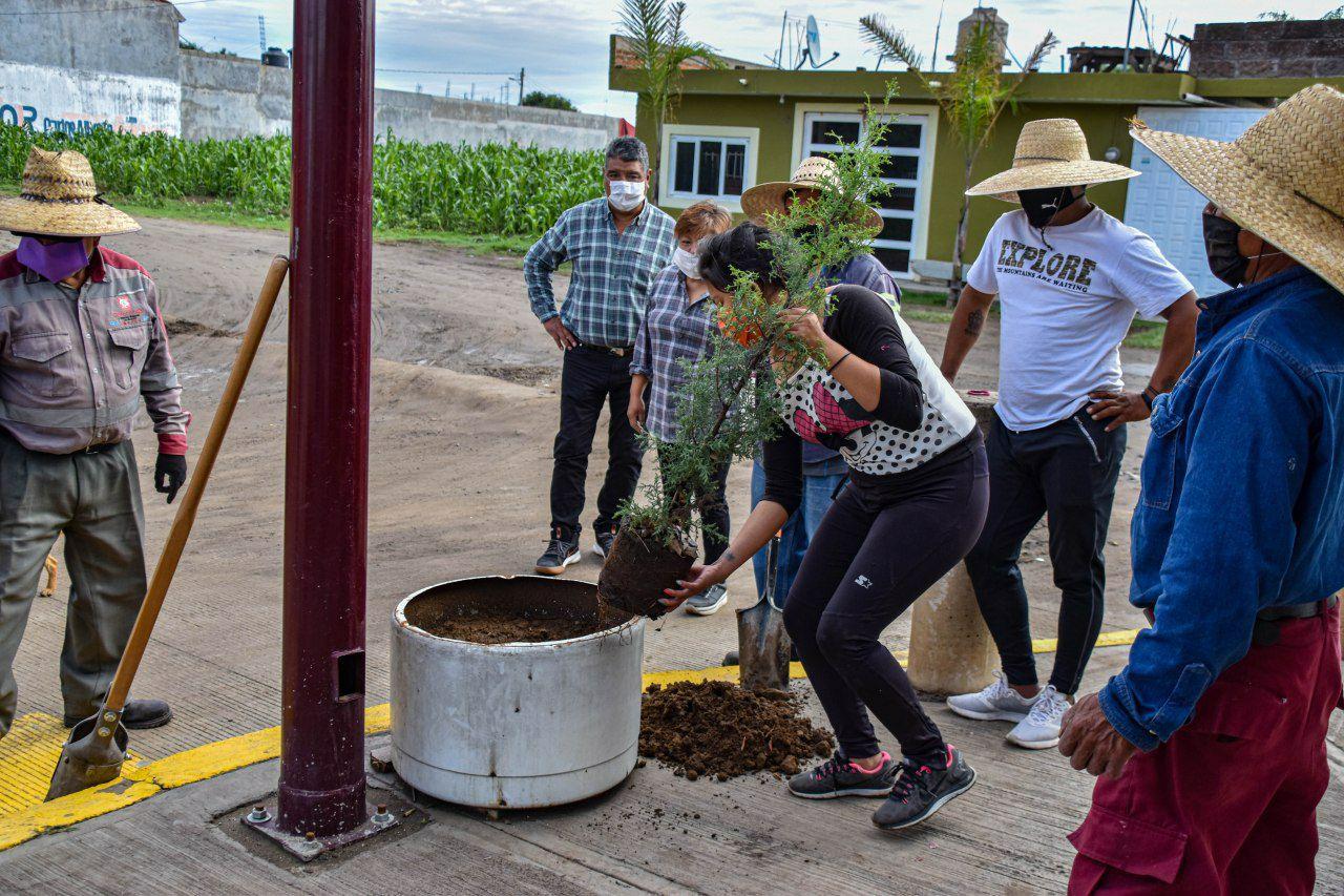 Coronango arranca programa de Reforestación 2020