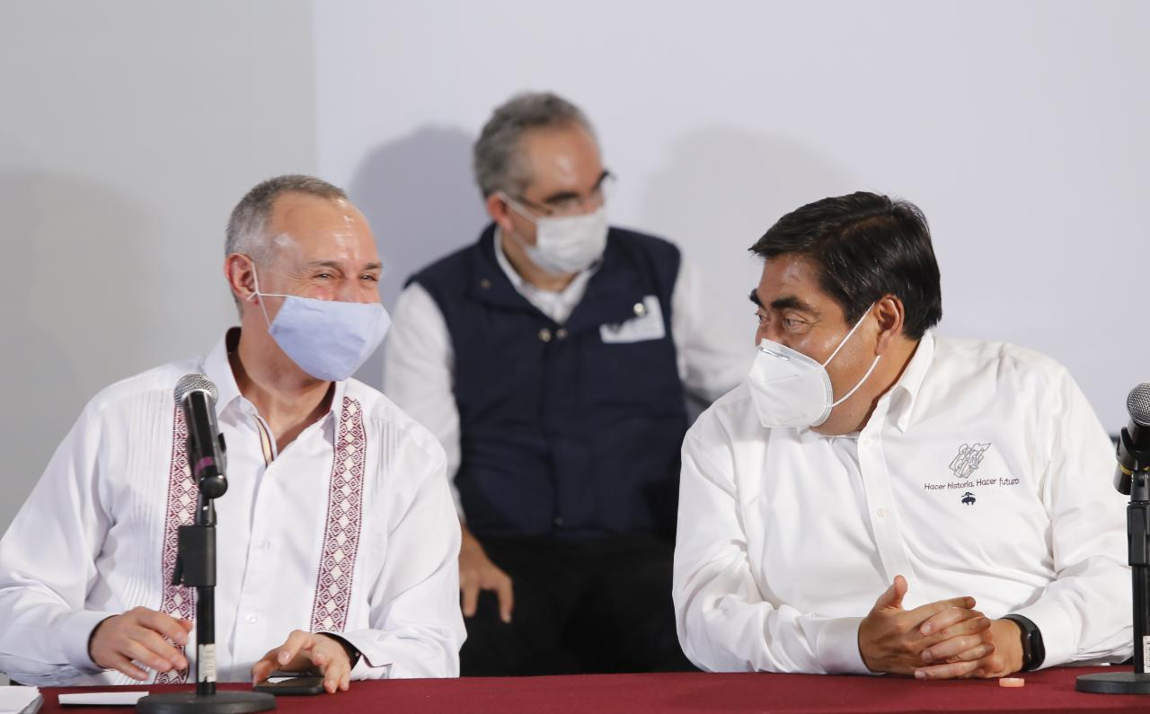 Puebla seguirá en semáforo rojo dos semanas más: Gatell