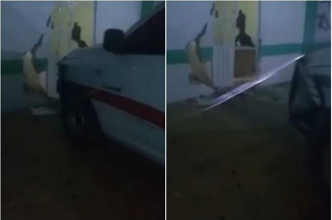 VIDEO Destruyen comandancia para linchar a sujeto en Tlacotepec