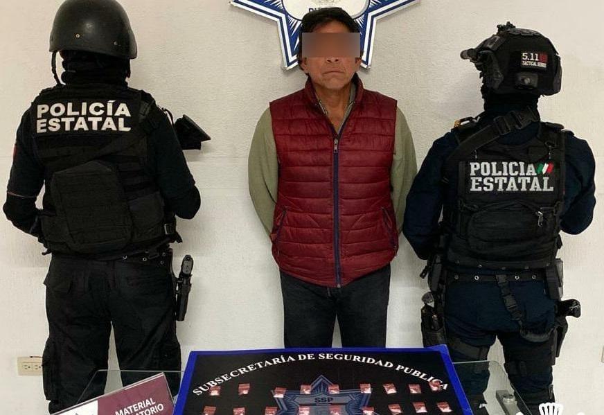 Detienen a El tío Fer por narcomenudista en Puebla