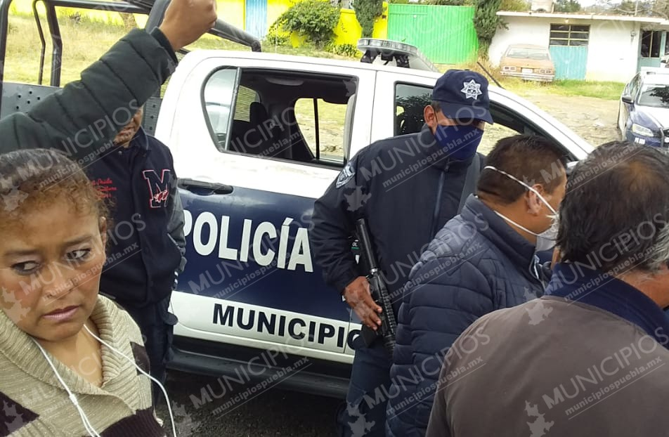 Zafarrancho entre sindicato y personal municipal de Santa Rita Tlahuapan