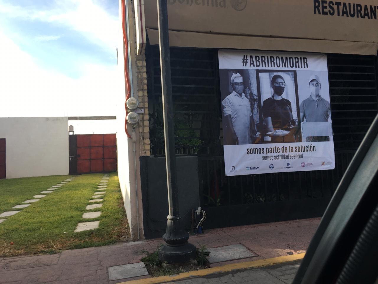 Comercios sanandreseños se unen a la iniciativa Abrir o Morir
