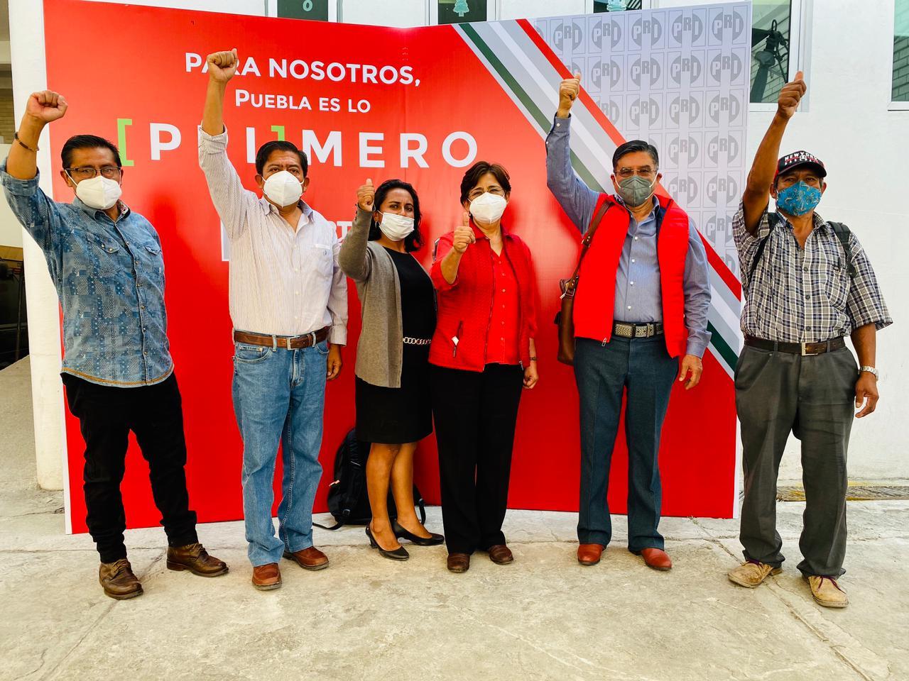 Se registran más de 15 antorchistas como precandidatos del PRI en Puebla