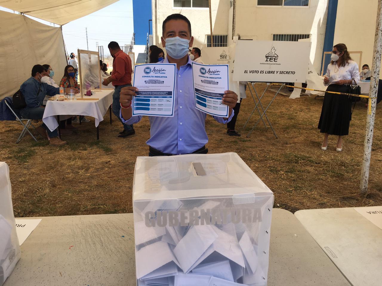 VIDEO En consulta ratifica PAN a Tlatehui como candidato en SACH