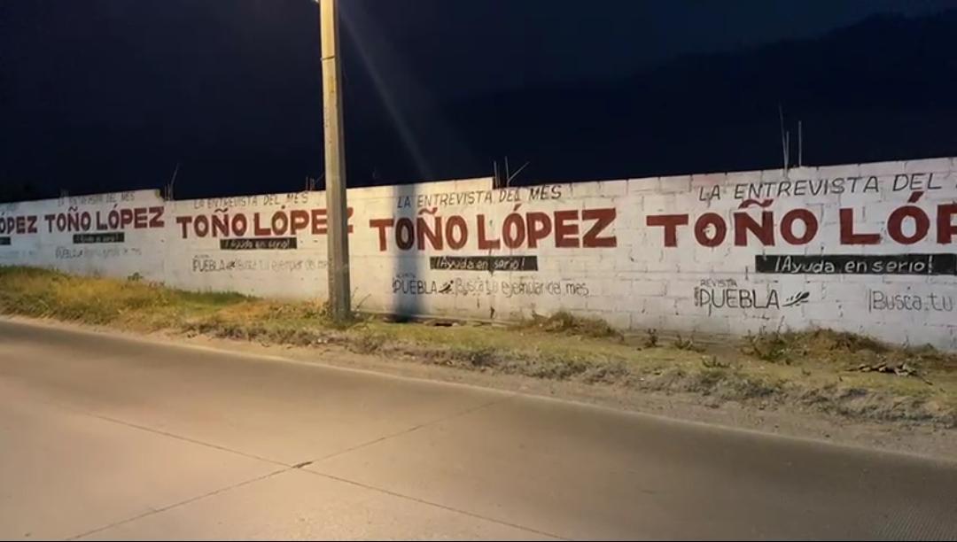 Denuncian a Toño López de Morena por campaña anticipada en Puebla