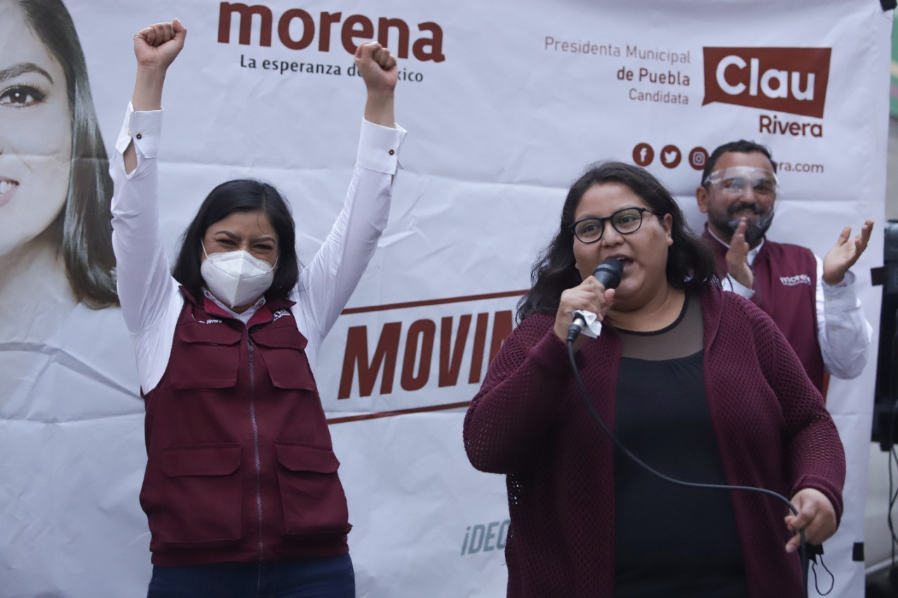 Claudia Rivera transformó Puebla capital: Citlali Hernández