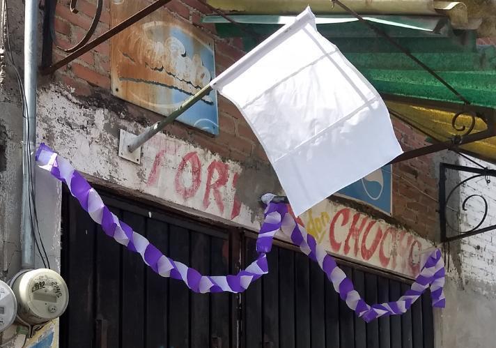 Vecinos de Xalmimilulco se suman a la campaña por la paz