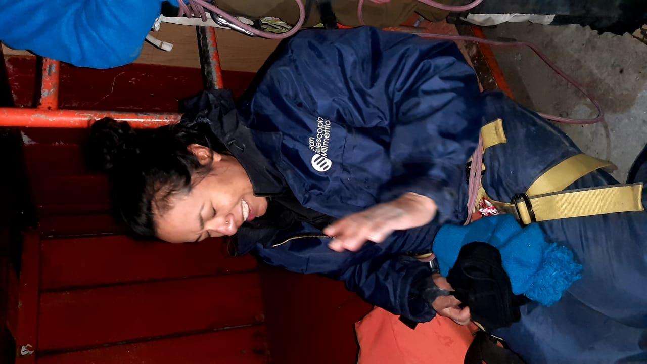 Alpinista estadounidense es rescatada en el Citlaltépetl