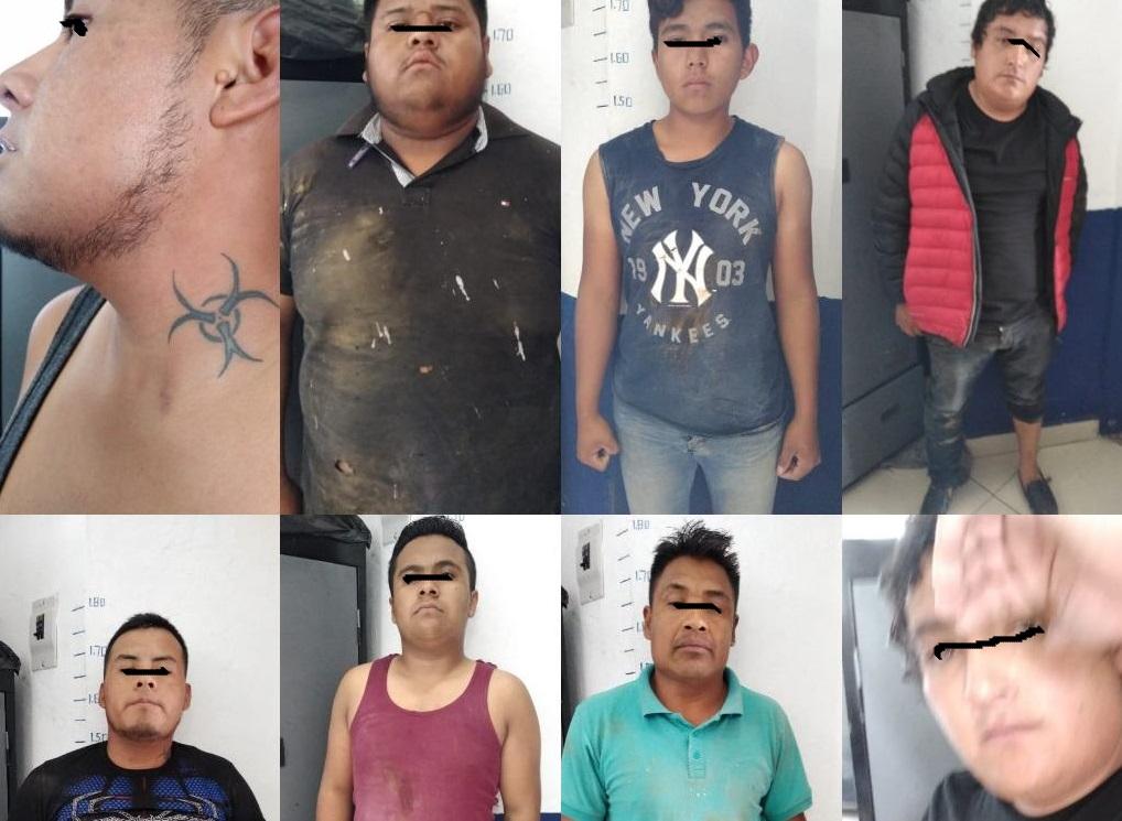 Detienen en Xiutetelco a banda de Tecamachalco