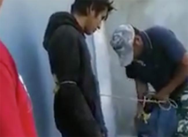 Vecinos detienen a dos ladrones en Yehualtepec